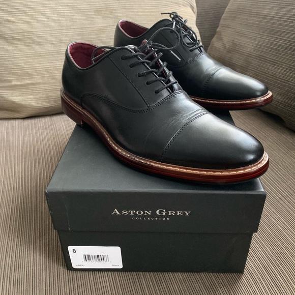 Aston Grey Kindu Cap Toe